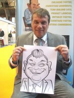 Caricature Arist Uk Areas Manchester Liverpool